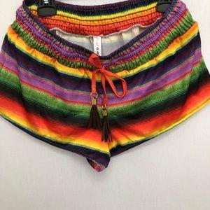 Multi color shorts